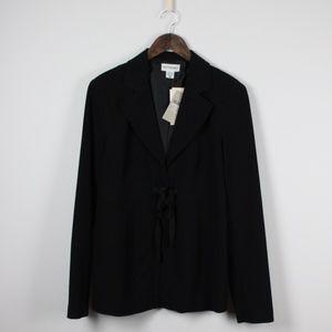 NWT Motherhood Maternity Black Career Suit Jacket